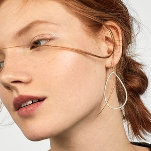 BAUBLEBAR - SOLARE 18K GOLD PLATED HOOP EARRINGS